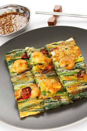 scallion: pajeon, korean pancake