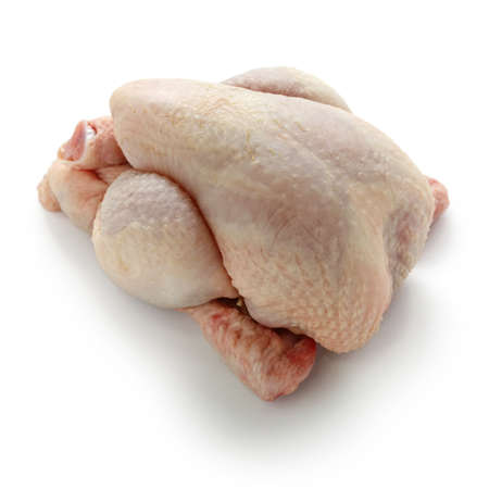 raw chicken: poussin, young chicken