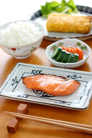 typical japanese breakfast image