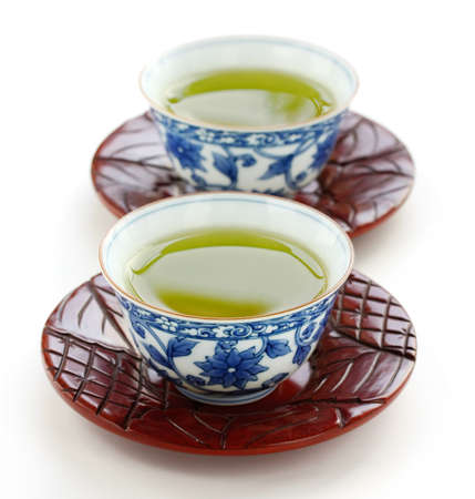 japanese green tea photo