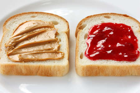 젤리: 땅콩 버터 & 젤리 샌드위치