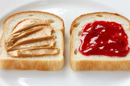 peanut butter: peanut butter & jelly sandwich