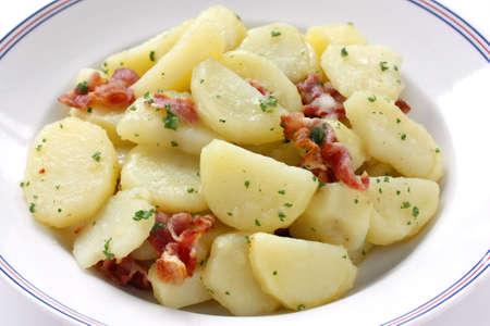 картофель: Kartoffelsalat, немецкий картофельный салат