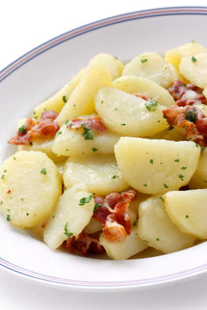 german food: Kartoffelsalat, german potato salad