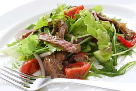 salad dressing: beef salad