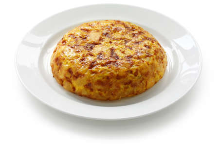 tortilla, spanish potato omelet