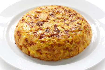 tortilla, spanish potato omelet photo