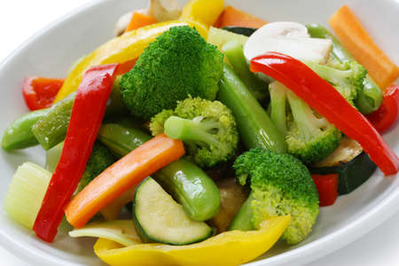 broccoli salad: stir fried vegetables