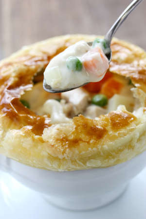 puff: chicken pot pie
