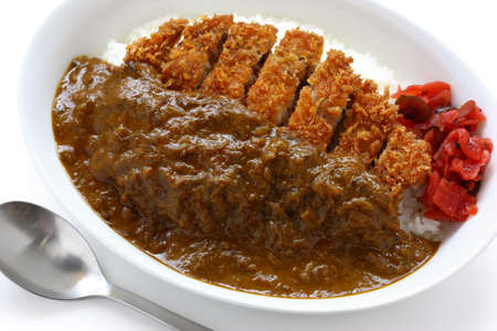 katsukare, japanese curry rice photo