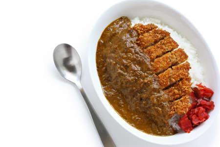 katsukare, japanisches Curry-Reis
