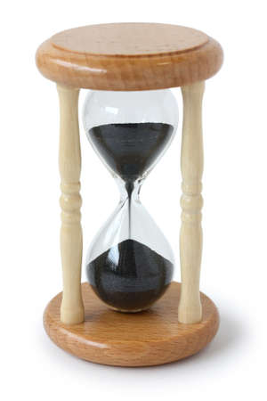 sand timer: hourglass, sand glass, sand clock