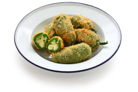 jalapeno pepper: jalapeno poppers Stock Photo