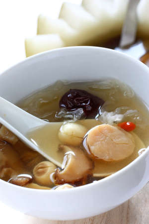 winter melon soup, chinese cuisine photo