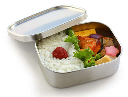 bento, japanese boxed lunch 版權商用圖片