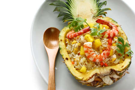 pineapple fried rice photo