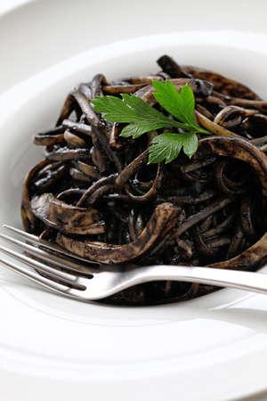 calamar: pasta de tinta de calamar, pasta negro