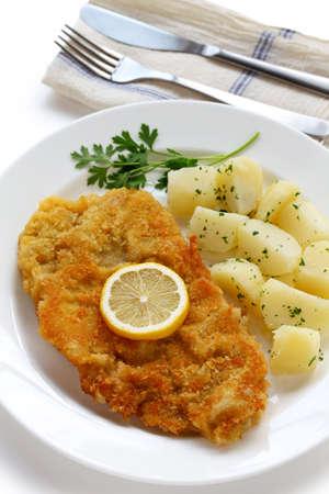 comida alemana: Wiener Schnitzel, cocina austriaca