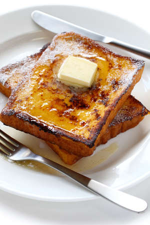 egg nog french toast photo