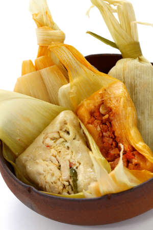 tamales, mexican cuisine photo
