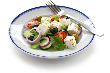 greek salad, greek cuisine Stock Photo - 15555015