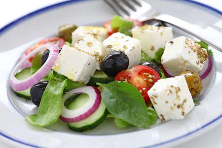 greek salad, greek cuisine Stock Photo - 15555016