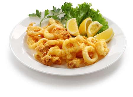 calamar: calamares fritos, calamares fritos con lim�n