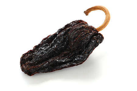 chile ancho, mexican dried chili pepper photo
