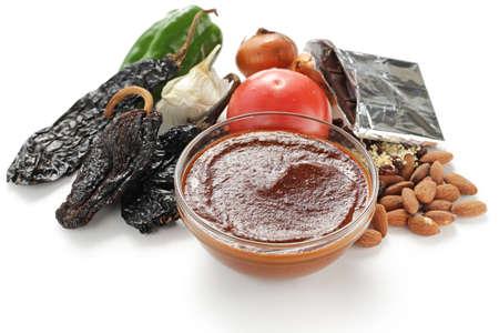 モレソース メキシコ料理 写真素材
