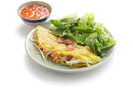 banh xeo, vietnamese crepe(pancake)