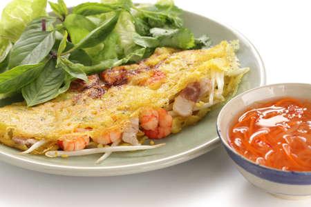 banh xeo, vietnamese crepe(pancake) Stock Photo - 16169374