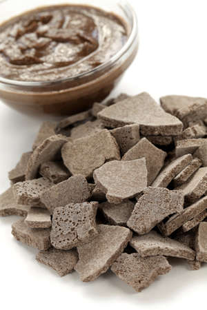 Magnesium: rhassoul, ghassoul, moroccan natural clay Stock Photo