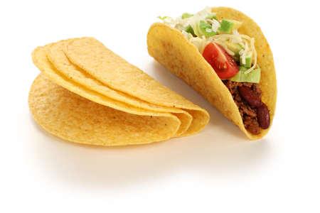 牛肉のタコス、メキシコ料理