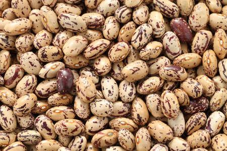 pinto: borlotti beans Stock Photo