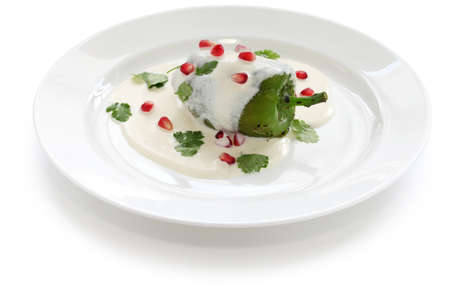 chile: chile en nogada, mexican cuisine
