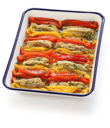 escalivada, grilled marinated vegetables, spanish cuisine Stock Photo - 17420572