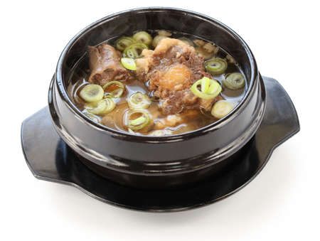 gori gomtang, korean oxtail soup Stock Photo