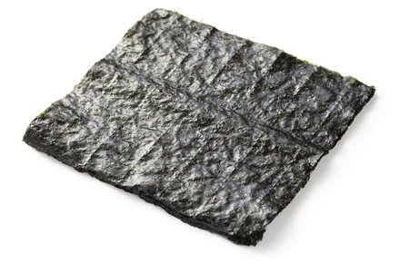 nori, japanese food, dried sheets of laver seaweed, sushi ingredient photo