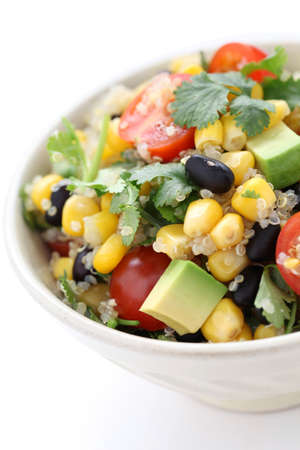 quinoa salad, vegetarian food photo