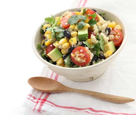 quinoa salad, vegetarian food Stock Photo