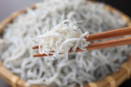 comida japonesa: morralla hervida, alimento japon�s