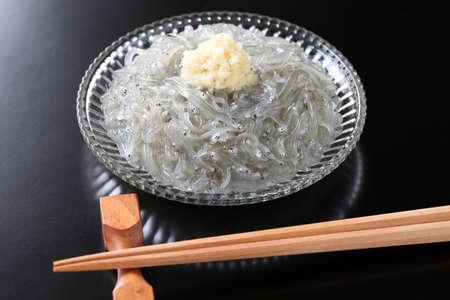 raw whitebait, japanese food Stock Photo - 18792180