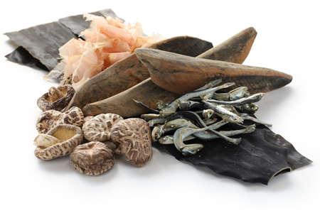 anchovy: japanese umami taste, ingredients of dashi(japanese soup stock), katsuobushi,kombu,niboshi and hoshi shiitake