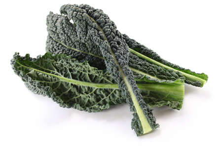 kale: black kale, italian kale Stock Photo