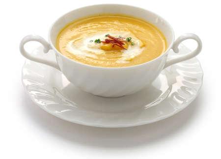 soup spoon: squash soup