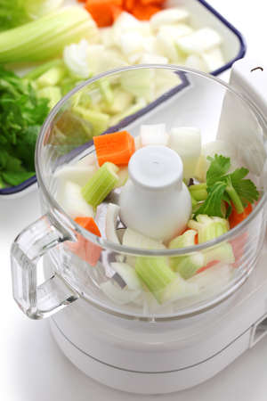 slicing: food processor image
