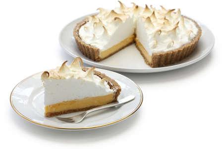 pie de limon: tarta de merengue de lim?n