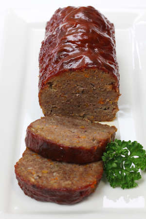 classic meatloaf, american food Stock Photo - 22963003