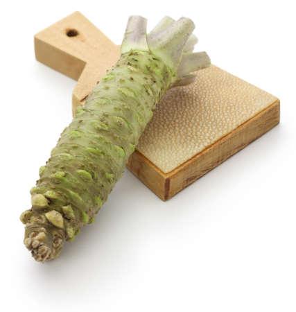 wasabi: wasabi and shark skin grater