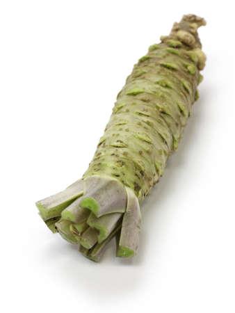 wasabi, japanese horseradish Stock Photo